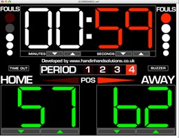 Free basketball scoreboard for pc.